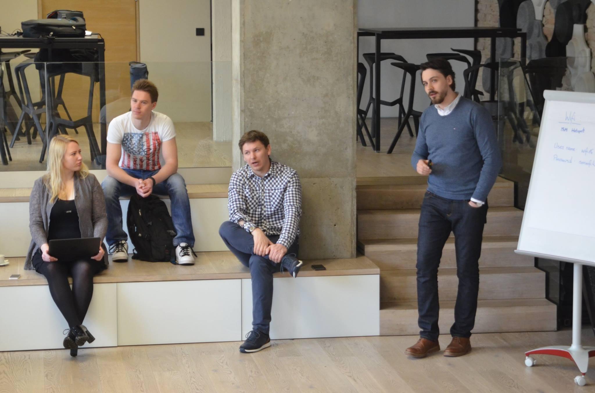 Gleb Matsev Login Startup Fair