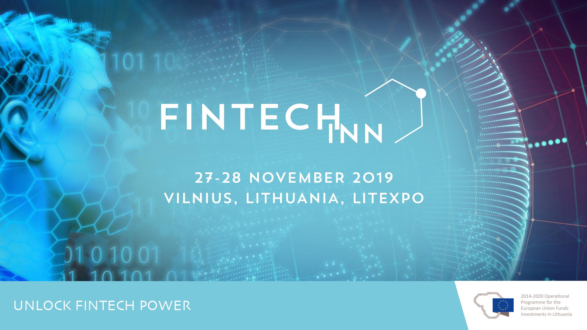 FintechINN on 27-28 November 2019 in Lithuania